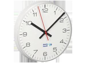 Reloj analógico doble