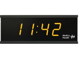 Reloj digital con sensor de temperatura y humedad