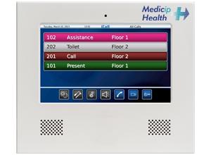 Consola IP táctil de enfermería