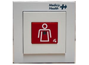 Botón de llamada y asistencia de enfermera RFID