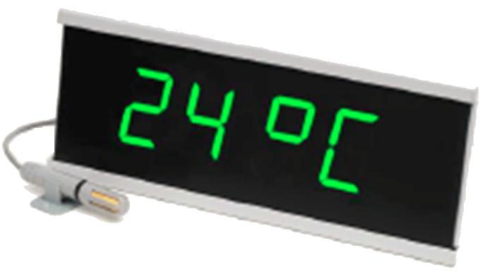Reloj con sensor de temperatura y humedad