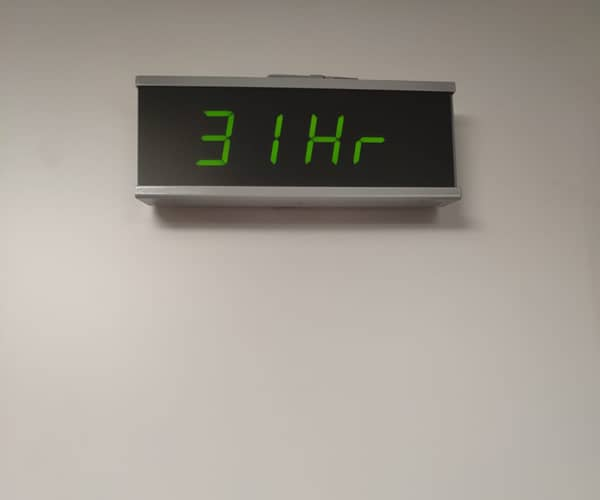 Reloj temperatura y humedad-Avantmèdic